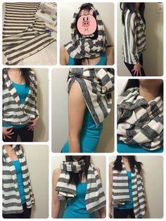 DIY a scarf
