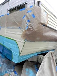HOW TO: Paint a travel trailer