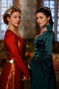 The Magnificent Century - Şah Sultan and Hürrem Sultan