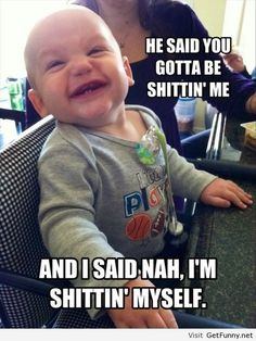 Baby is funny again - Funny Pictures, Funny Quotes, Funny Memes, Funny Pics, Fails, Autocorrect fails