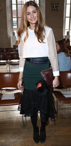 Olivia Palermo's Fendi Monster Bag Charm