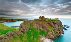 Dunnottar Castle, Scotland. Sections of the castle dates back to the 13th century. Image back then what people were capable of, such beauty but so much strength. Over 700 years later it still stands til this day.