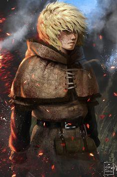Thorfinn from Vinland Saga by Sebijy on DeviantArt - Alinne Jarppin Fanarts Anime, Anime Manga, Anime Art, Vinland Saga Manga, Saga Art, Jojo Bizzare Adventure, Manga Characters, Deviantart, 3d Animation