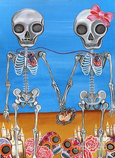 The Two Skeletons - Jaz Higgins