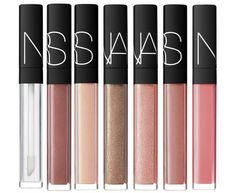 NARS Lip Gloss Reformulating for 2014 - Triple X – Stolen Kisses – Striptease – Supervixen – Sweet Dreams – Sweet Revenge – Tasmania