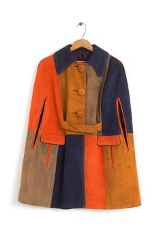 I mean how amazing is this mod suede statement cape?