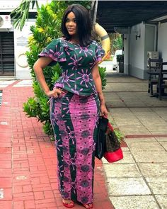 Latest Ankara Styles 2018 - Ankara Styles - Ankara gown styles Love the African Maxi Dresses, African Inspired Fashion, Latest African Fashion Dresses, African Dresses For Women, African Print Fashion, African Attire, African Prints, African Women, Ankara Fashion