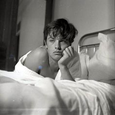 Alain Delon by John S. Barrington, c. 1950s
