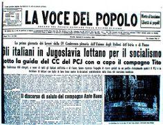 La Voce del Popolo - Fiume, 8 novembre 1949