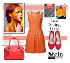 """Shein 1"" by fashion-addict35 ❤ liked on Polyvore featuring H&M, Oris and vintage"