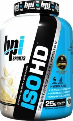 Bpi ISO-HD Protein Isolate   1.6lbs
