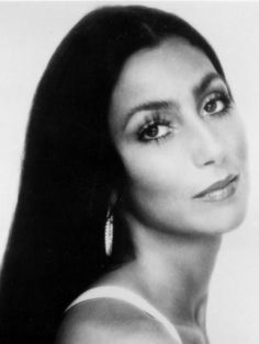"""Cher..she was beautiful before all the surgeries.I bet she wishes ,""""She could turn back time"""""""
