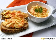 Pomazánka Pavarotti recept - TopRecepty.cz Ham, Risotto, Macaroni And Cheese, Appetizers, Cooking, Ethnic Recipes, Food, Summer, Baking Center