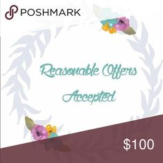 ALL Reasonable Offers Accepted 💖 ALL Reasonable Offers Accepted 💖 Other