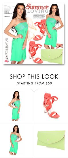 """""""AMIclubwear 3"""" by selmina ❤ liked on Polyvore featuring Summer, chic, summerfashion and amiclubwear"""
