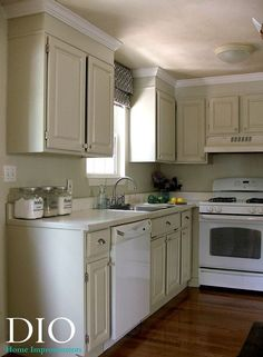 Kitchen Cabinet Makeover for Less Than $250 #Home-Decor