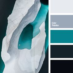 Free collection of color palettes ideas for all the occasions: decorate your house, flat, bedroom, kitchen, living room and even wedding with our color ideas. Dark Grey Color, Dark Colors, Colours, Grey Light, Blue Grey, Shades Of Turquoise, Shades Of Blue, Yellow Turquoise, Color Shades