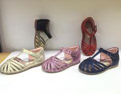 Something new for summer #woopy #woopyorthopedic #kidsshoes #kidsfootwear…