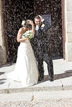 #Bodas #ideales en el #Parador de #LaGranja #arroz #wedding #love #novios
