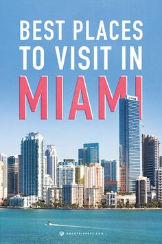 Go to Miami for some fun in the sun. Great food, art, museums and beaches.