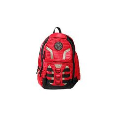 Marvel Iron Man Built Backpack ($31) ❤ liked on Polyvore featuring bags, backpacks, daypack bag, pocket bag, day pack backpack, marvel bag and padded backpack