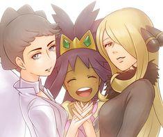 Women Champions - Diantha, Iris and Cynthia i hate diantha Pokemon People, Pokemon Ships, New Pokemon, Gotta Catch Them All, Catch Em All, Pokemon Cynthia, Iris, Pokemon Champions, Gym Leaders