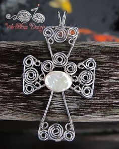 wire jewelry making ideas | ... Pendant – Wire Wrapped and Woven Cross — Jewelry Making Journal