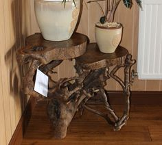 Coffee Table Driftwood Table Pot Stand