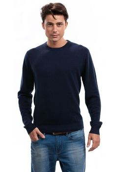 Wool Overs Men's Cashmere & Merino V Neck Sweater - http://www ...