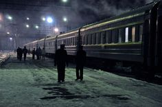 Winter on the Trans Mongolian Railway