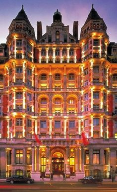 Mandarin Hotel Hyde Park London
