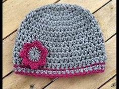 Bonnet bébé crochet 1
