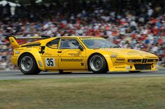 BMW Procar during revival held at 2008 German Grand Prix Classic Race Cars, Bmw Classic, Sports Car Racing, Sport Cars, Bmw Convertible, Bbs, Road Race Car, Bmw M1, Bmw 328i