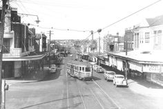 Chatswood of yesteryears. I remember it looking like this but without the trams