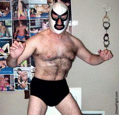 a hairy shoulders gay bears wrestlers wrestling