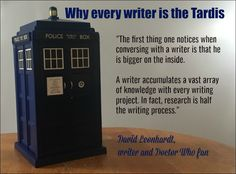 """The first thing one notices when conversing with a writer is that he is bigger on the inside. Writing Quotes, Writing A Book, Writing Tips, Book Quotes, Happy Guy, Writing Process, Get To Know Me, Tardis, Creative Writing"