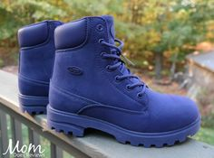 Rugged and Stylish Essentials for Fall!  About Lugz Empire Hi M Boots: The Empire Hi M is a water resistant and slip resistant plain toe boot that features our patented Flexastride memory foam technology. This monotone boot has the perfect blend of...