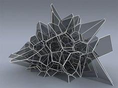 Futuristic cellular structure architecture « VANGUARQ