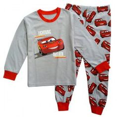 Stylish Cars Pattern Long Sleeve Round Neck T-Shirt + Pants Twinset For Boys (GRAY,120) | Sammydress.com Mobile