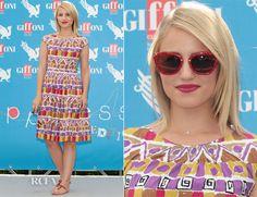 Dianna Agron In Prada – 2012 Giffoni Film Festival! HOT! <3