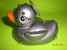 Silver Bolt Rubber Duck