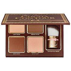 Too Faced - Cocoa Contour Chiseled to Perfection in Light to Medium #sephora
