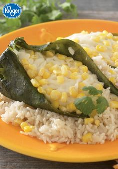 Inexpensive staples like rice and frozen corn make this an exotic and cost-effective meatless meal! These tasty Stuffed Poblano Chiles from Inspired Gathering are the perfect addition to your Cinco de Mayo dinner. Plus, you may want to save this recipe for all your upcoming taco nights.
