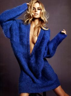 Shannan Click by David Roemer for Vogue Mexico       ♪ ♪ ... #inspiration #crochet  #knit #diy GB  http://www.pinterest.com/gigibrazil/boards/