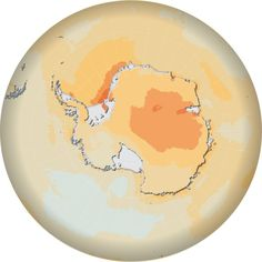 Temperature increases in the Antarctic due to climate change, 2090 (NCAR-CCM3, SRES A2 experiment)   UNEP/GRID-Arendal - Maps & Graphics library
