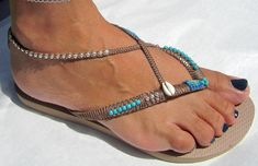 Sandals Boho Sandals Summer Sandals Havaianas Thong
