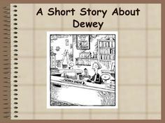 I never knew WHY the Dewey Decimal was arranged as it was, this makes sense! DDS caveman knew