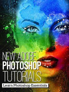26 New Adobe Photoshop Tutorials to Learn Photoshop Essentials #howto #learnphotoshop #photoshoptutorials #photoediting #photomanipulation