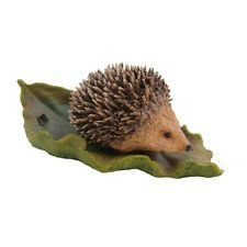 Baby Hedgehog Sculpture Animal Figurine Farm Gift NEW Hand Painted 04029