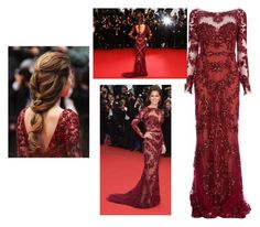"""""""cheryl cole"""" by li-directioner ❤ liked on Polyvore featuring Zuhair Murad"""